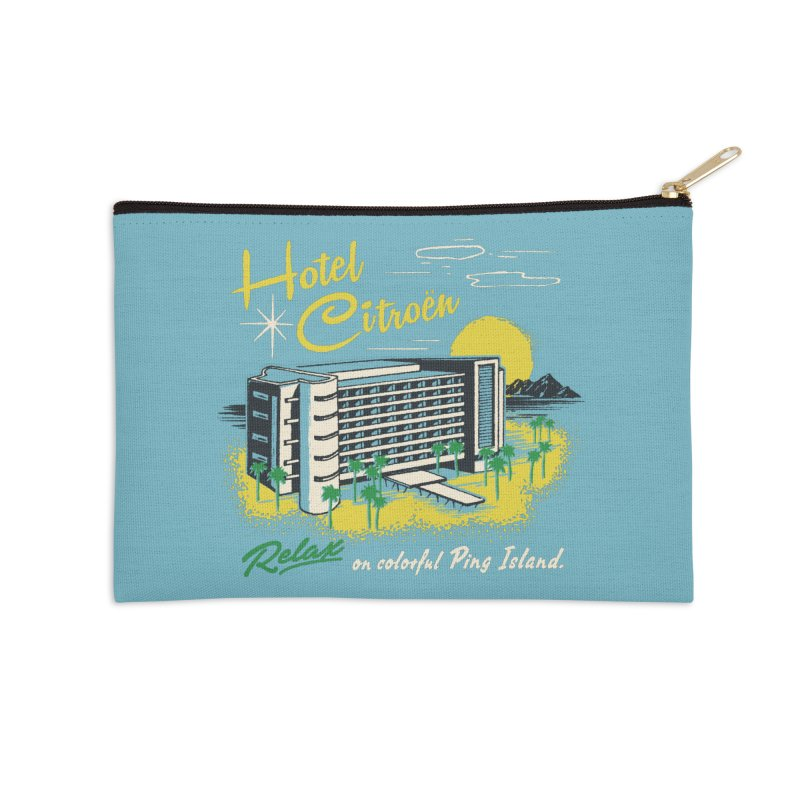 Hotel Citroen Accessories Zip Pouch by Steven Rhodes