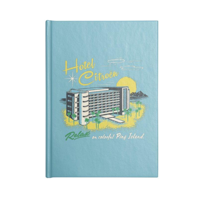 Hotel Citroen Accessories Notebook by Steven Rhodes