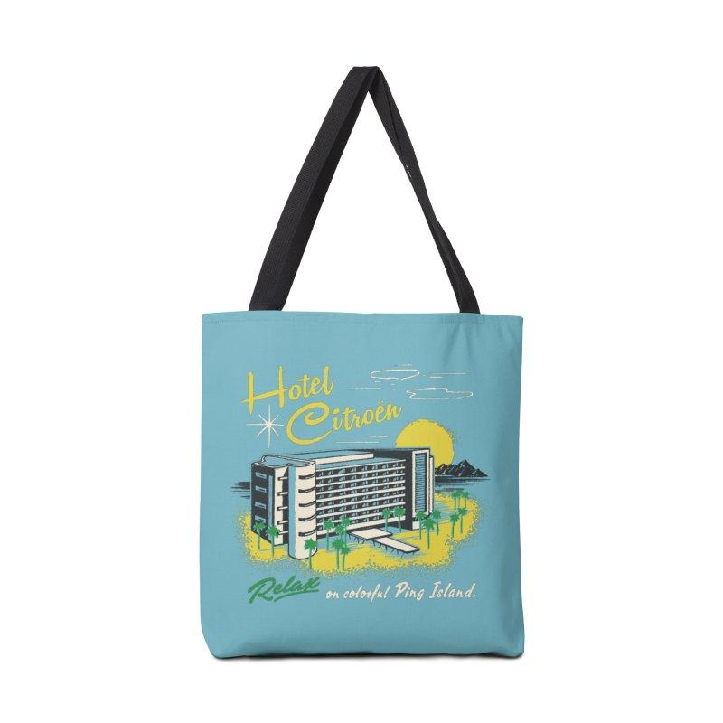 Hotel Citroen Accessories Bag by Steven Rhodes
