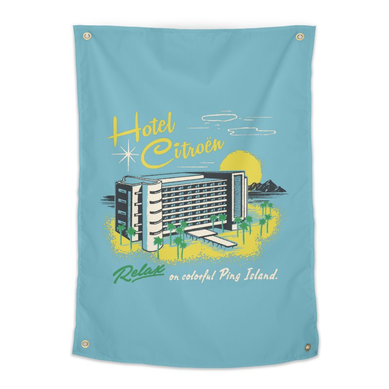 Hotel Citroen Home Tapestry by Steven Rhodes