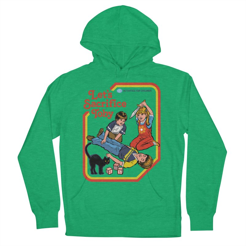 Let's Sacrifice Toby Men's French Terry Pullover Hoody by Steven Rhodes