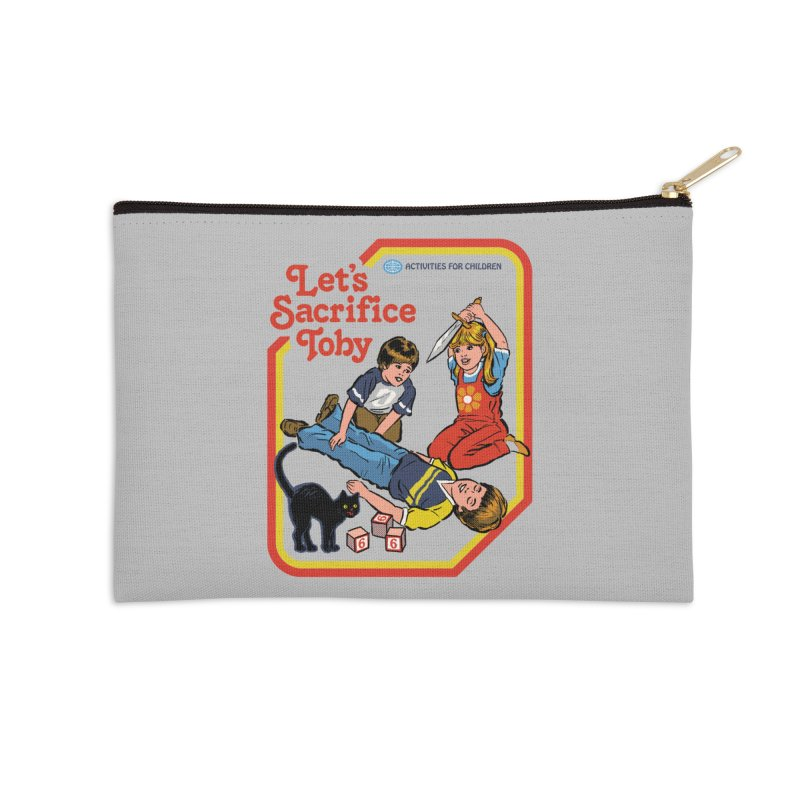 Let's Sacrifice Toby Accessories Zip Pouch by Steven Rhodes