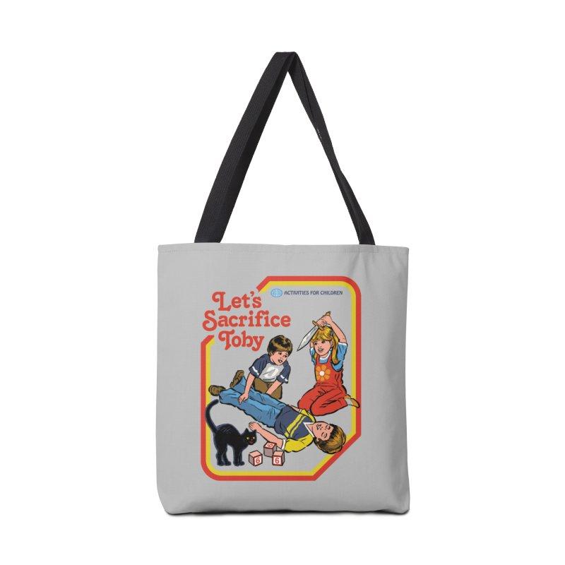 Let's Sacrifice Toby Accessories Bag by Steven Rhodes
