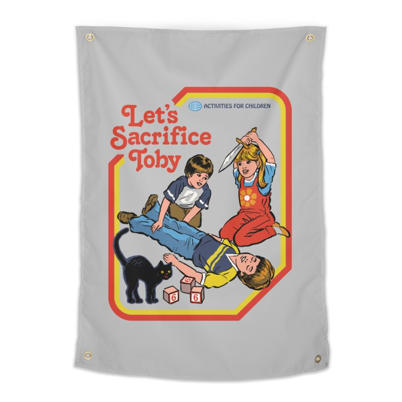 Let's Sacrifice Toby Home Tapestry by Steven Rhodes