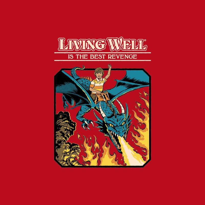 Living Well Men's T-Shirt by Steven Rhodes
