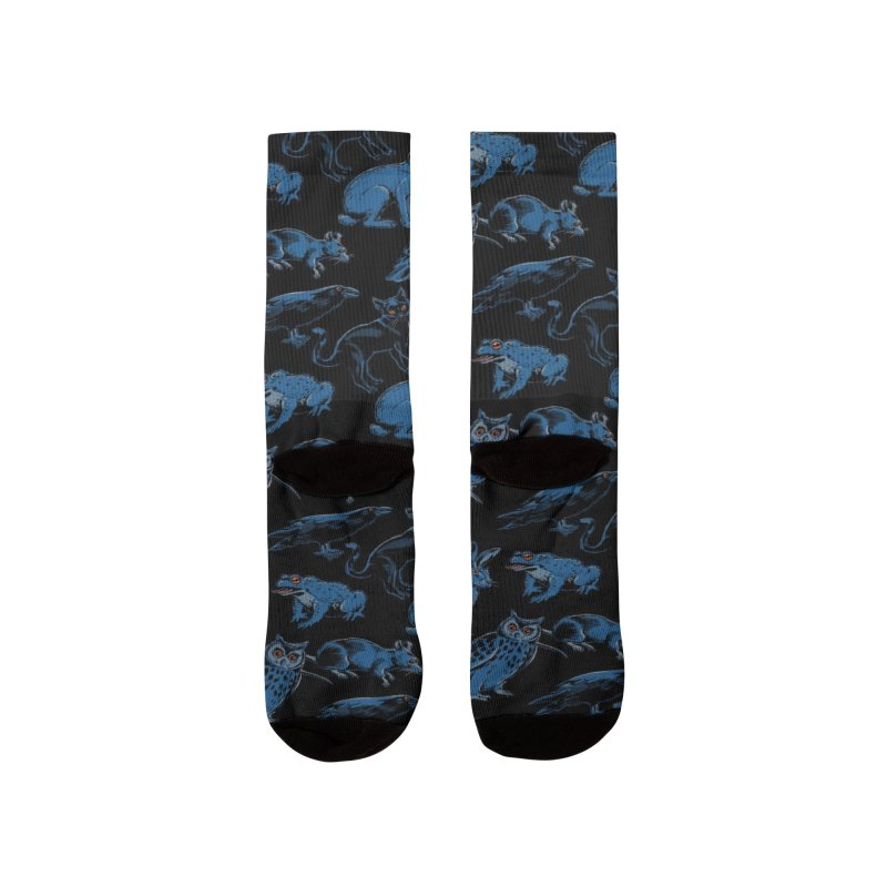 Adopt A Familiar Pattern Women's Socks by Steven Rhodes