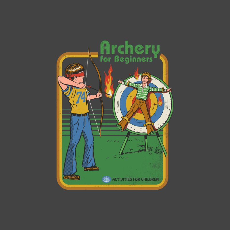 Archery for Beginners Women's T-Shirt by Steven Rhodes
