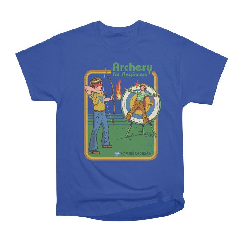 Archery for Beginners Women's Classic Unisex T-Shirt by Steven Rhodes