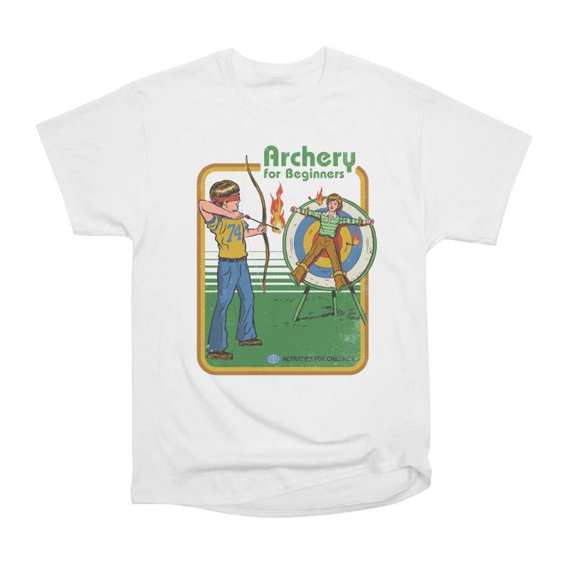 Archery for Beginners Men's Classic T-Shirt by Steven Rhodes