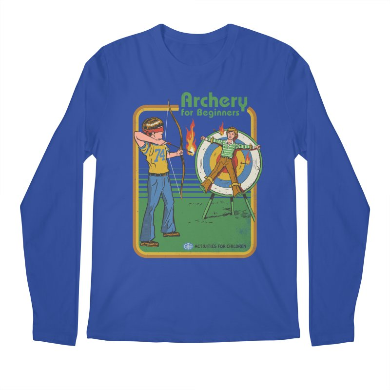 Archery for Beginners Men's Longsleeve T-Shirt by Steven Rhodes