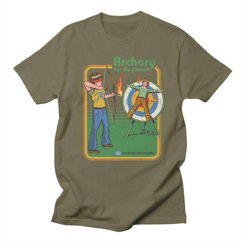 Archery for Beginners Men's T-shirt by Steven Rhodes