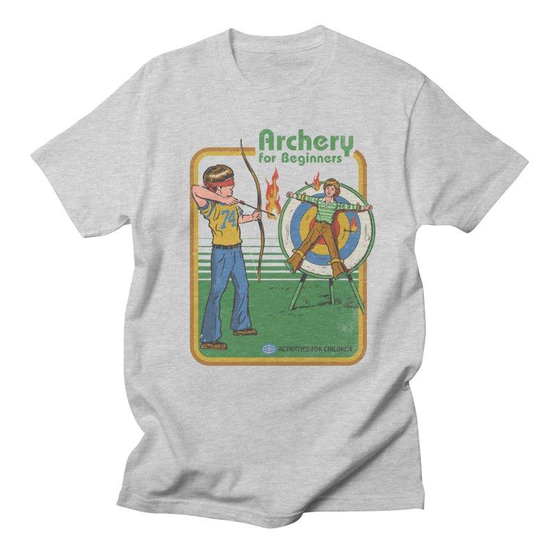 Archery for Beginners Women's Unisex T-Shirt by Steven Rhodes