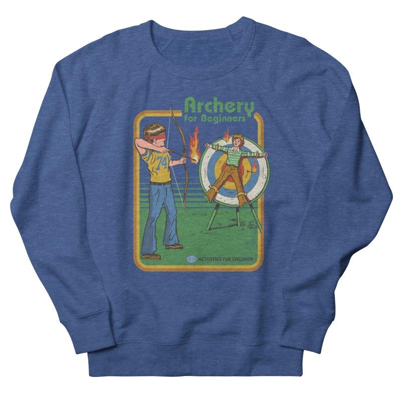 Archery for Beginners Women's Sweatshirt by Steven Rhodes