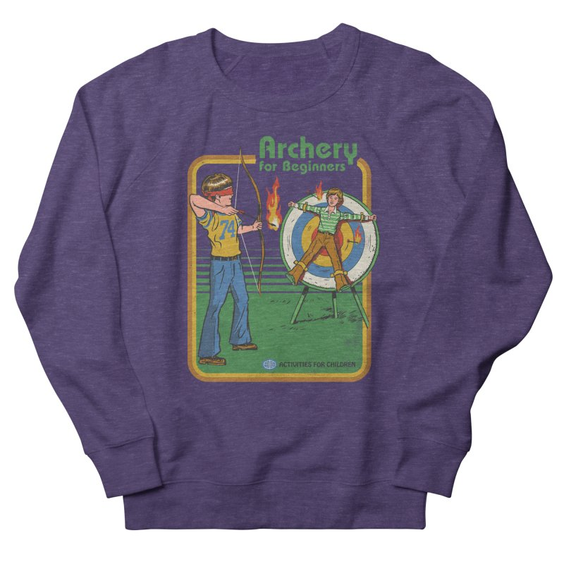 Archery for Beginners Women's Sweatshirt by Steven Rhodes