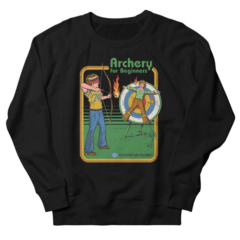 Archery for Beginners Men's Sweatshirt by Steven Rhodes