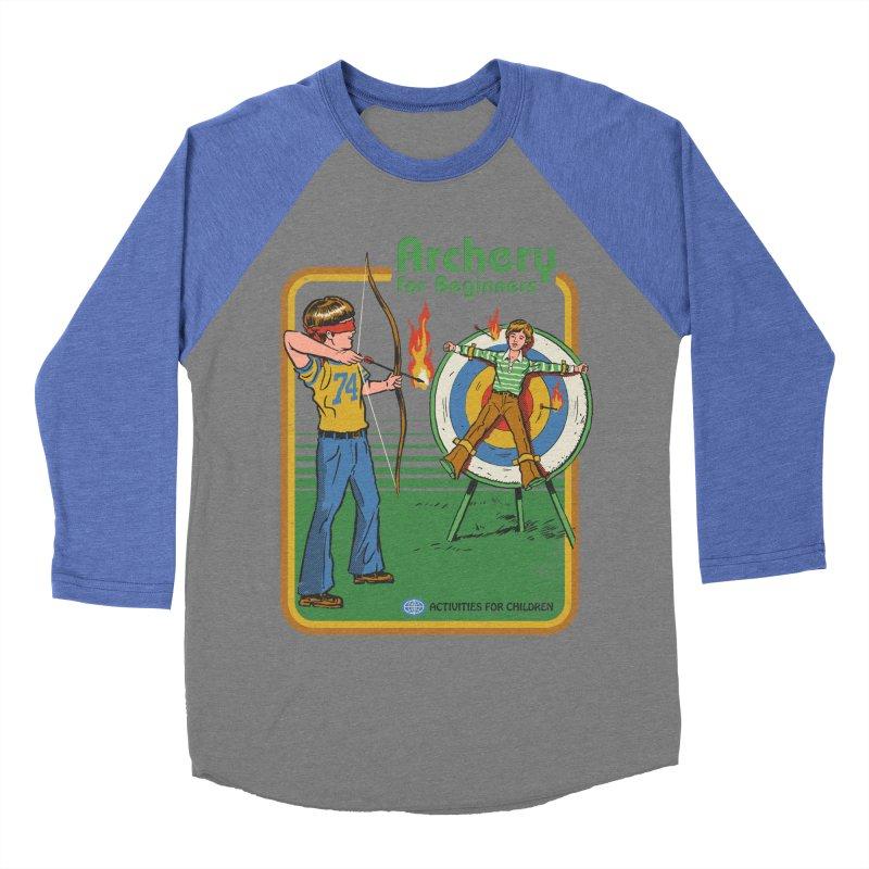 Archery for Beginners Women's Baseball Triblend T-Shirt by Steven Rhodes