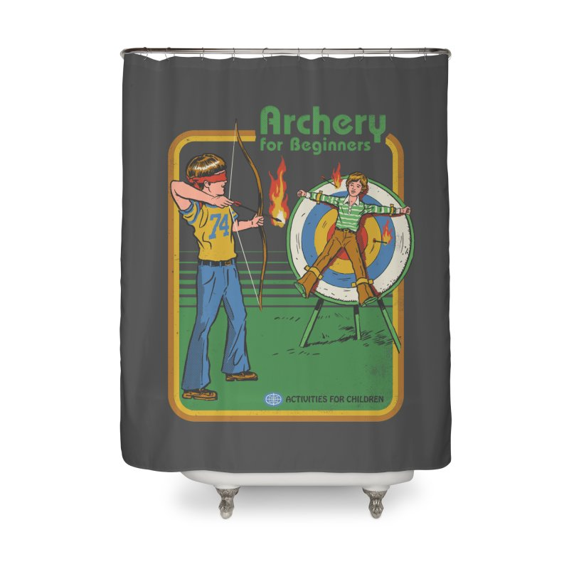 Archery for Beginners Home Shower Curtain by Steven Rhodes