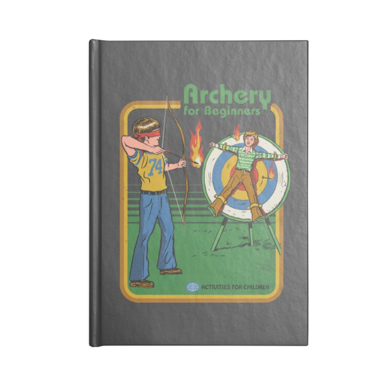 Archery for Beginners Accessories Notebook by Steven Rhodes