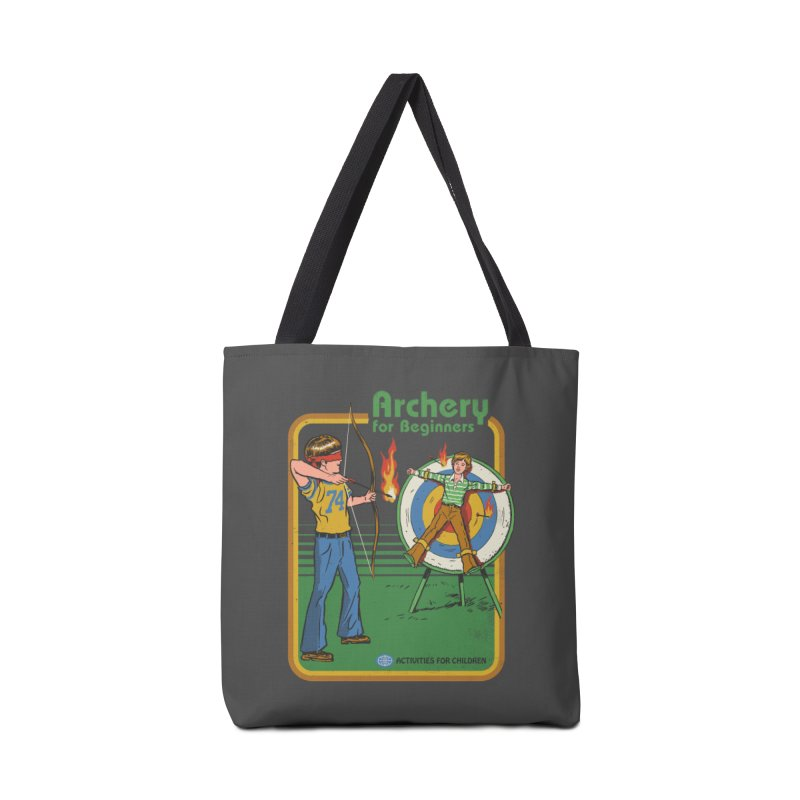 Archery for Beginners Accessories Bag by Steven Rhodes