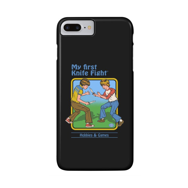 My First Knife Fight Accessories Phone Case by Steven Rhodes