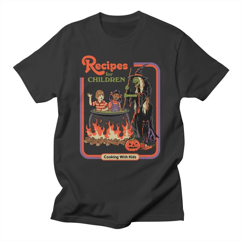 Recipes For Children Men's T-Shirt by Steven Rhodes