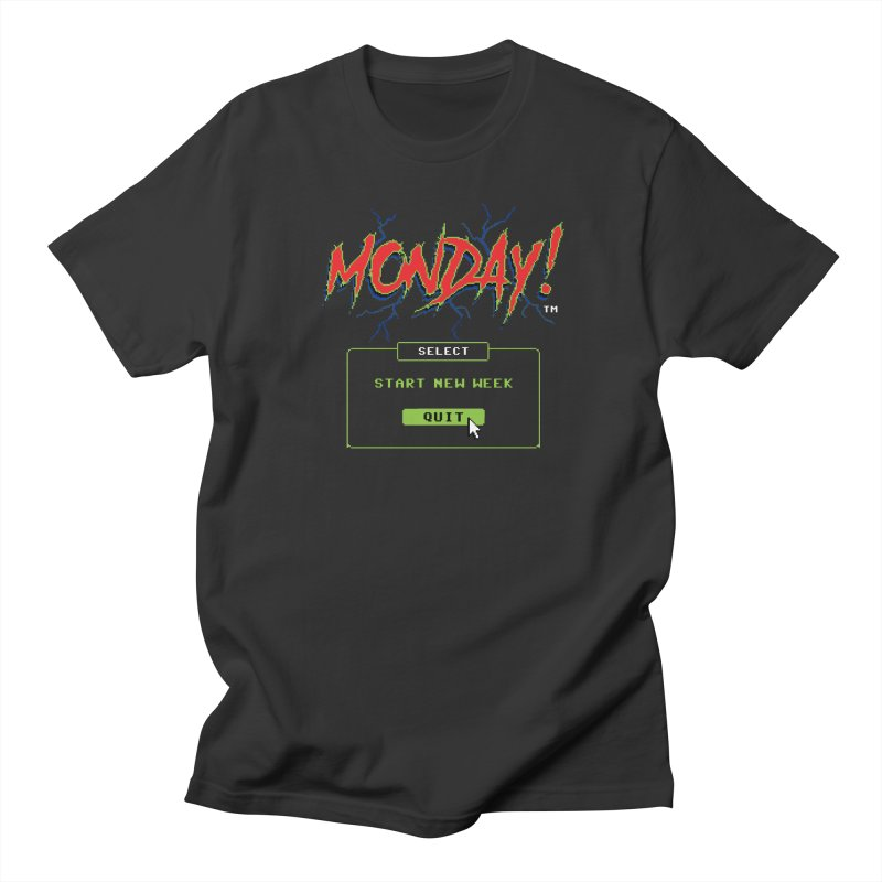 Monday (Game Over) Women's Unisex T-Shirt by Steven Rhodes