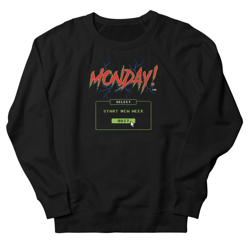 Monday (Game Over) Women's Sweatshirt by Steven Rhodes
