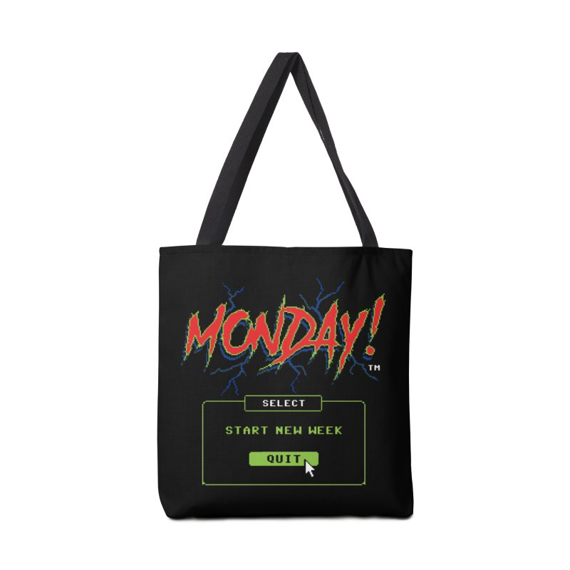 Monday (Game Over) Accessories Bag by Steven Rhodes