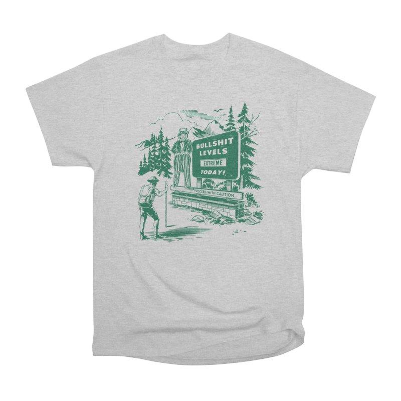 Extreme Bullsh*t Men's Classic T-Shirt by Steven Rhodes