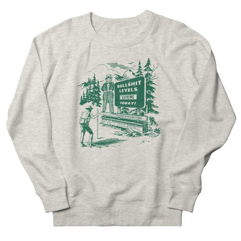 Extreme Bullsh*t Men's Sweatshirt by Steven Rhodes