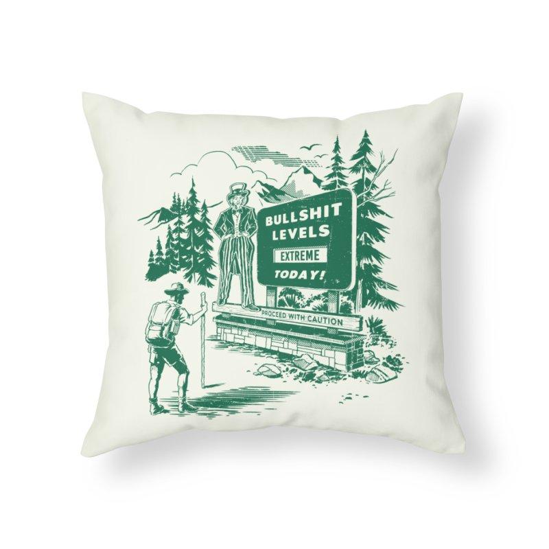 Extreme Bullsh*t Home Throw Pillow by Steven Rhodes