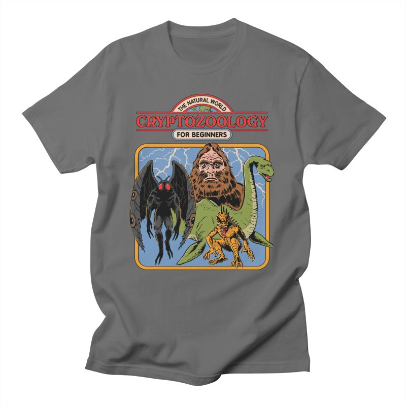 Cryptozoology For Beginners Men's T-Shirt by Steven Rhodes