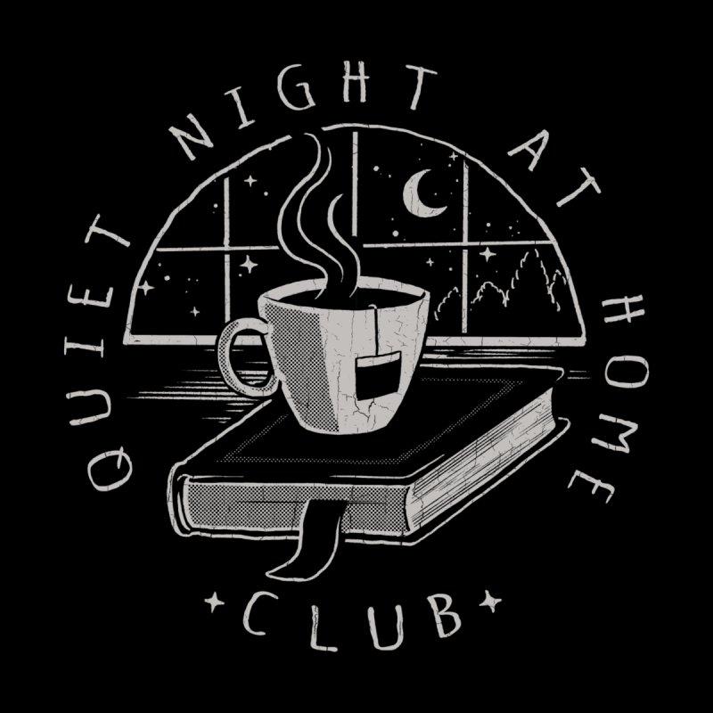 Quiet Night Club Home Bath Mat by Steven Rhodes