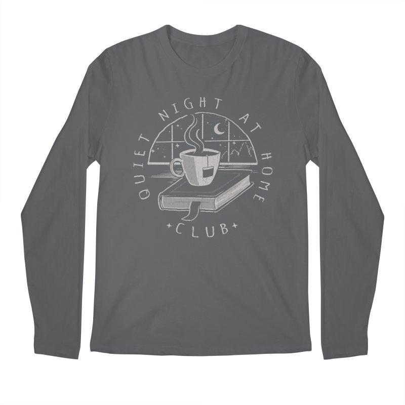 Quiet Night Club Men's Longsleeve T-Shirt by Steven Rhodes