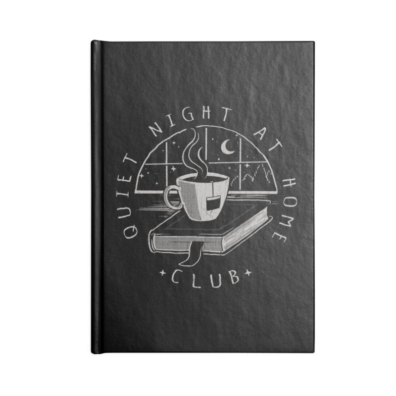 Quiet Night Club Accessories Notebook by Steven Rhodes
