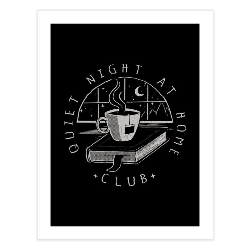 Quiet Night Club Home Fine Art Print by Steven Rhodes