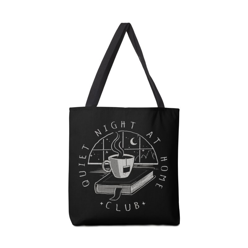 Quiet Night Club Accessories Bag by Steven Rhodes