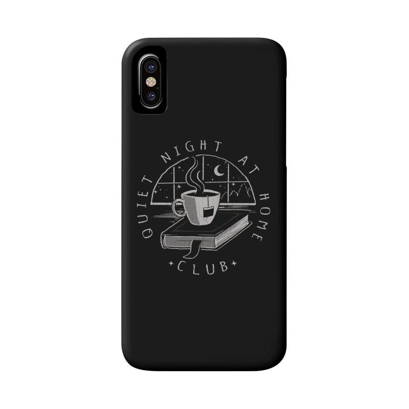 Quiet Night Club Accessories Phone Case by Steven Rhodes