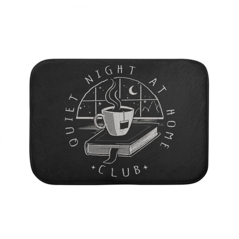 Quiet Night Club Home Bath Mat by Steven Rhodes