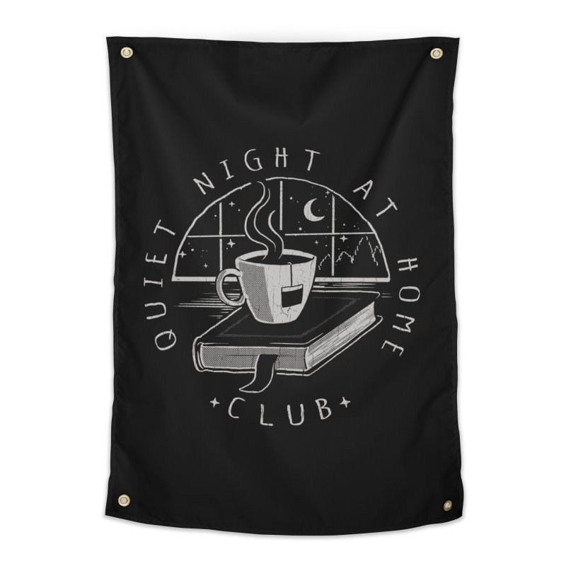 Quiet Night Club Home Tapestry by Steven Rhodes