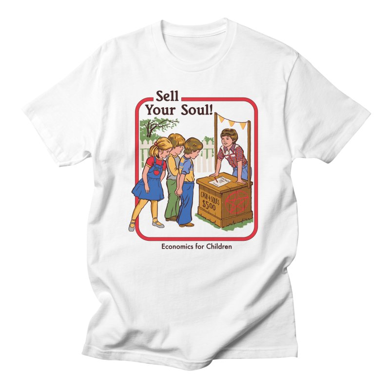 Sell Your Soul Men's T-Shirt by Steven Rhodes