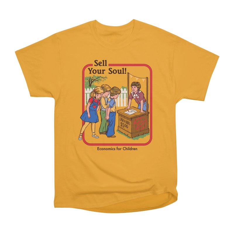 Sell Your Soul Men's Classic T-Shirt by Steven Rhodes