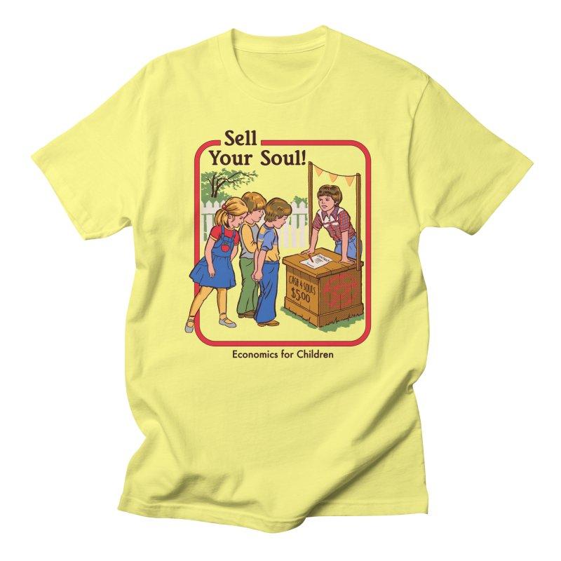 Sell Your Soul Men's T-Shirt by Steven Rhodes