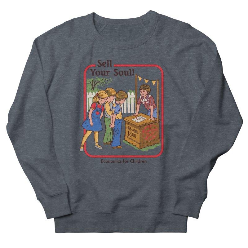 Sell Your Soul Men's Sweatshirt by Steven Rhodes