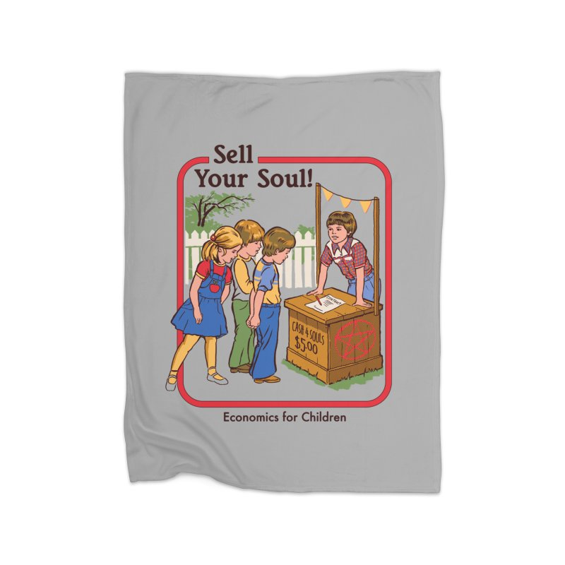 Sell Your Soul Home Blanket by Steven Rhodes