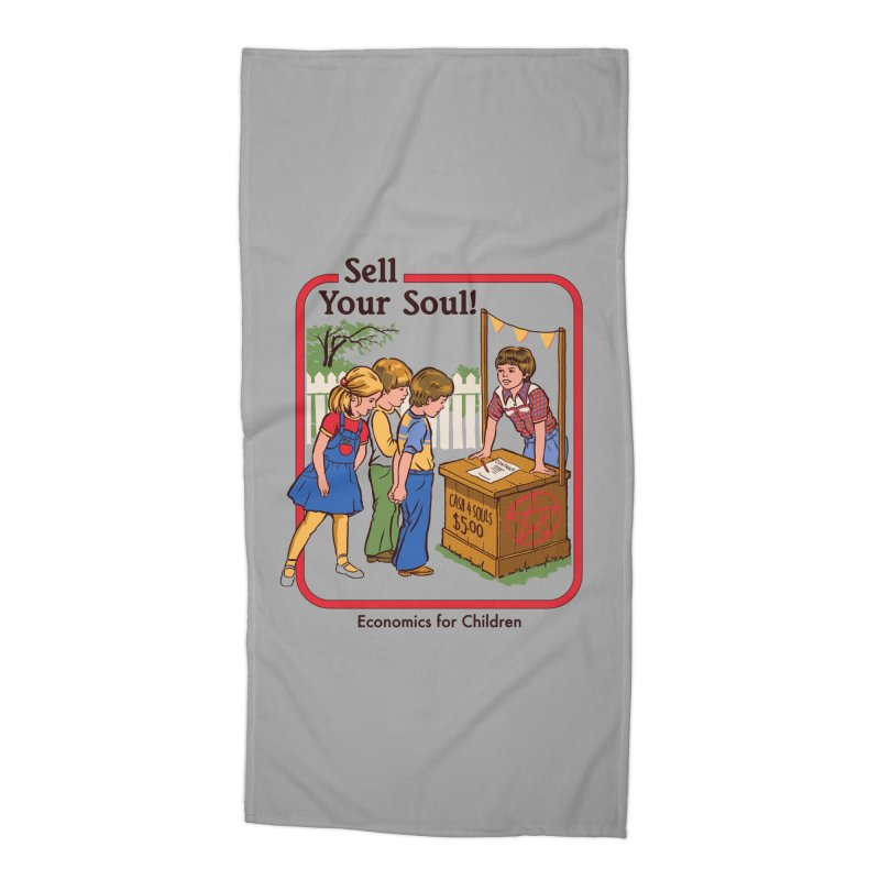 Sell Your Soul Accessories Beach Towel by Steven Rhodes