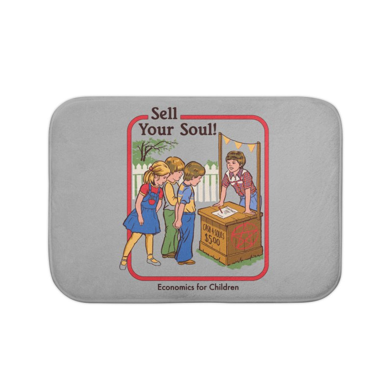 Sell Your Soul Home Bath Mat by Steven Rhodes