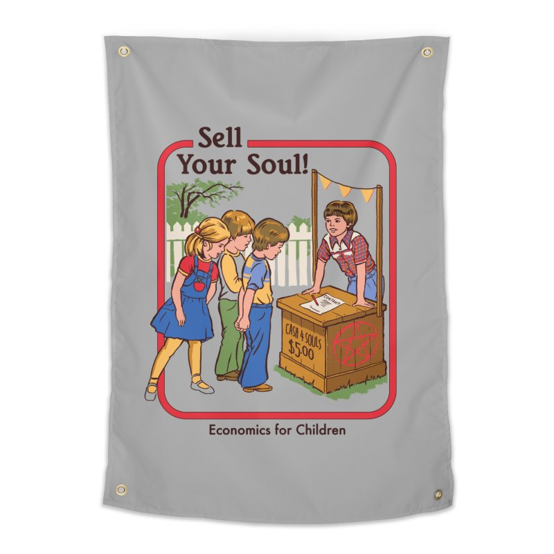 Sell Your Soul Home Tapestry by Steven Rhodes