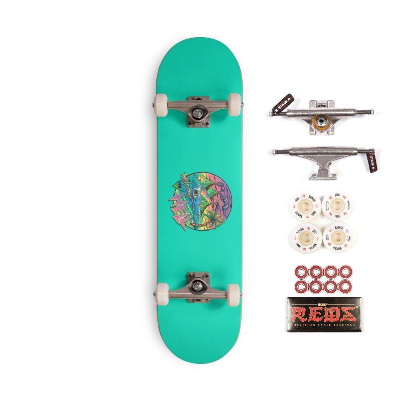 Welcome to Hell Accessories Complete - Pro Skateboard by Steven Rhodes
