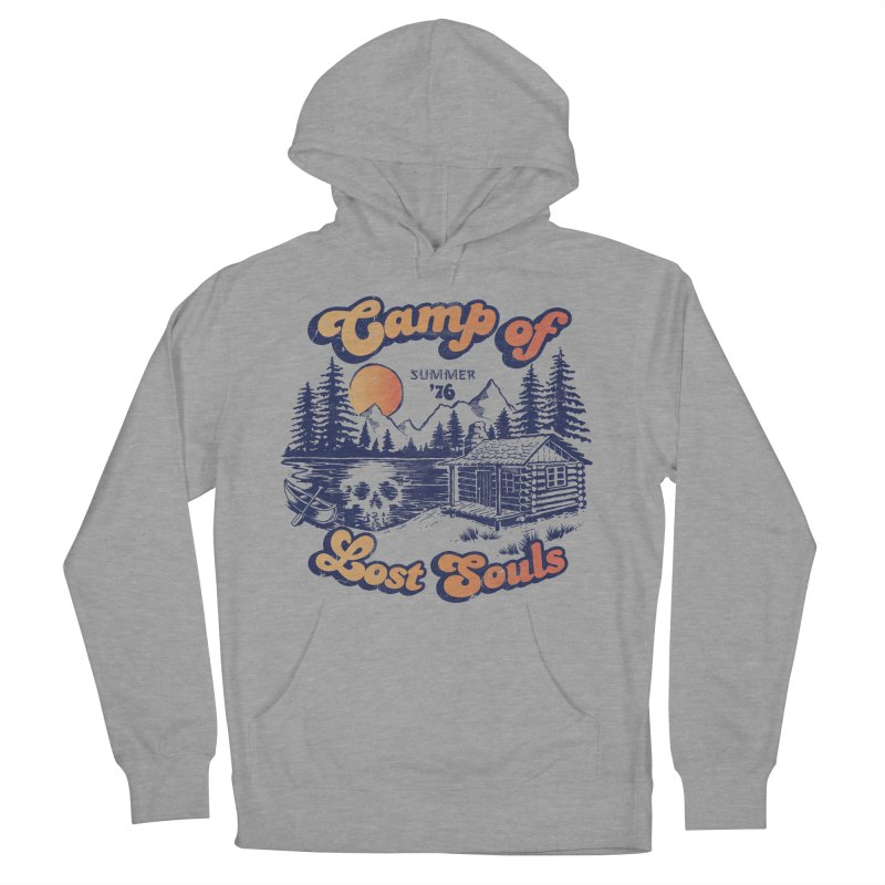 Camp of Lost Souls Men's Pullover Hoody by Steven Rhodes
